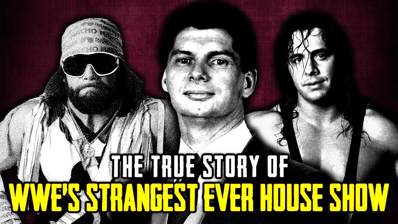 The True Story Of WWE's Strangest House Show Ever