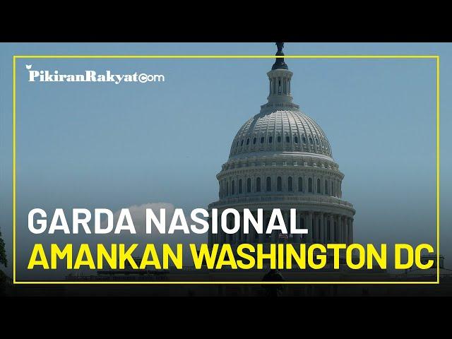 Joe Biden Mulai Tinggal di Gedung Putih, Ribuan Garda Nasional Amankan Washington DC