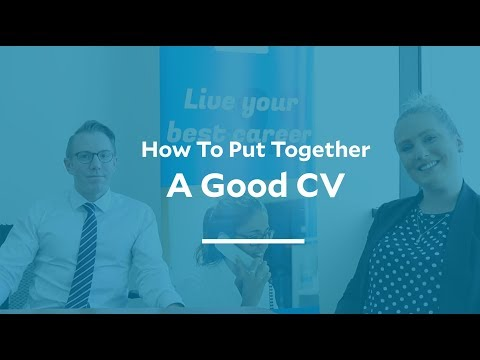 How to write a good CV with Geneva Healthcare's recruitment EXPERTS!