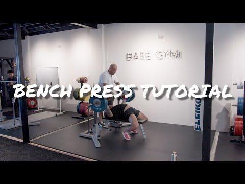 Bench Press Technique Tutorial