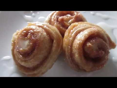 How To: Make Cinnamon Rolls With Pizza Dough!!