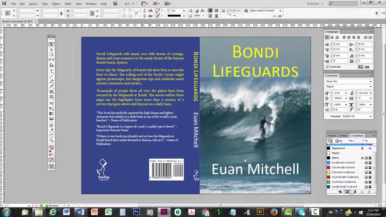 assemble a print book cover part 5 make a press quality pdf