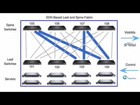 Dynamic ECMP load balancing using segment routing