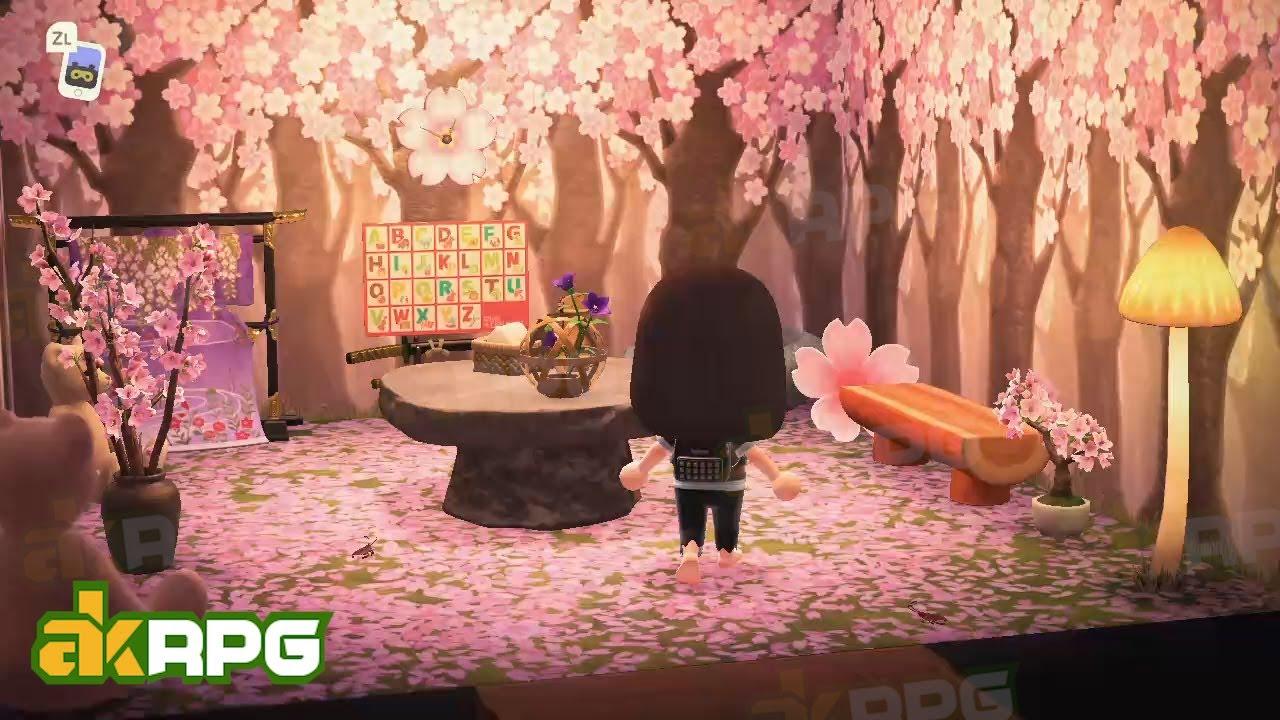 Acnh Cherry Blossom Dreamy World Best Acnh Designs Ideas With Cherry Blossom Items