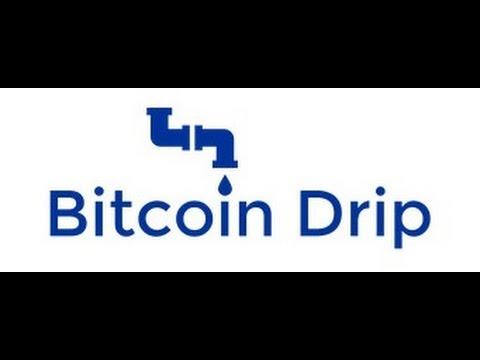 Обзор крана Bitcoin Drip! 2200 сатоши каждые 100 минут!