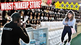 Going To The Worst Reviewed BEAUTY STORE In My City! *1 STAR*