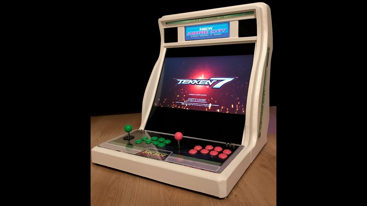 Homemade Candy Arcade Bartop Xbox One Xbox 360 Ps4 Ps3 Pc