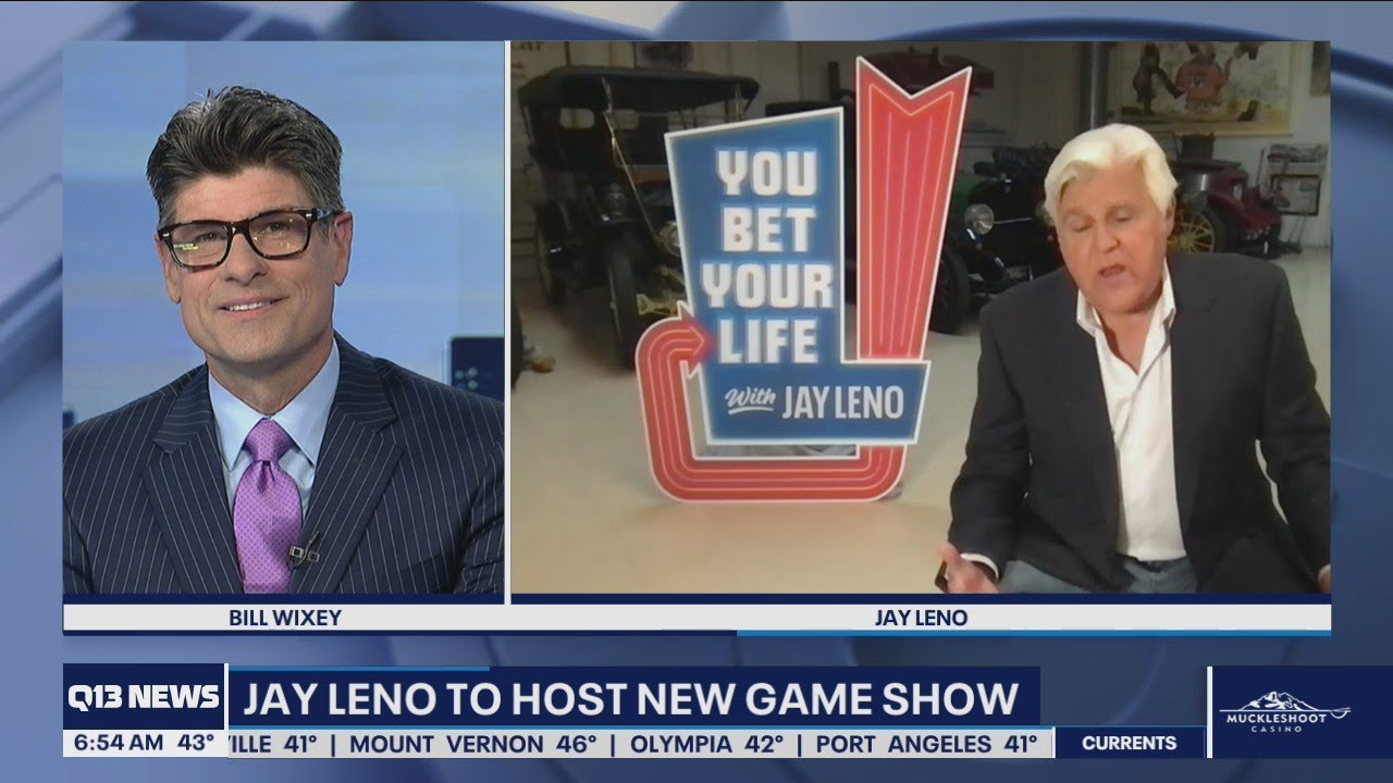 Download Jay Leno's new game show You Bet Your Life seeking contestants