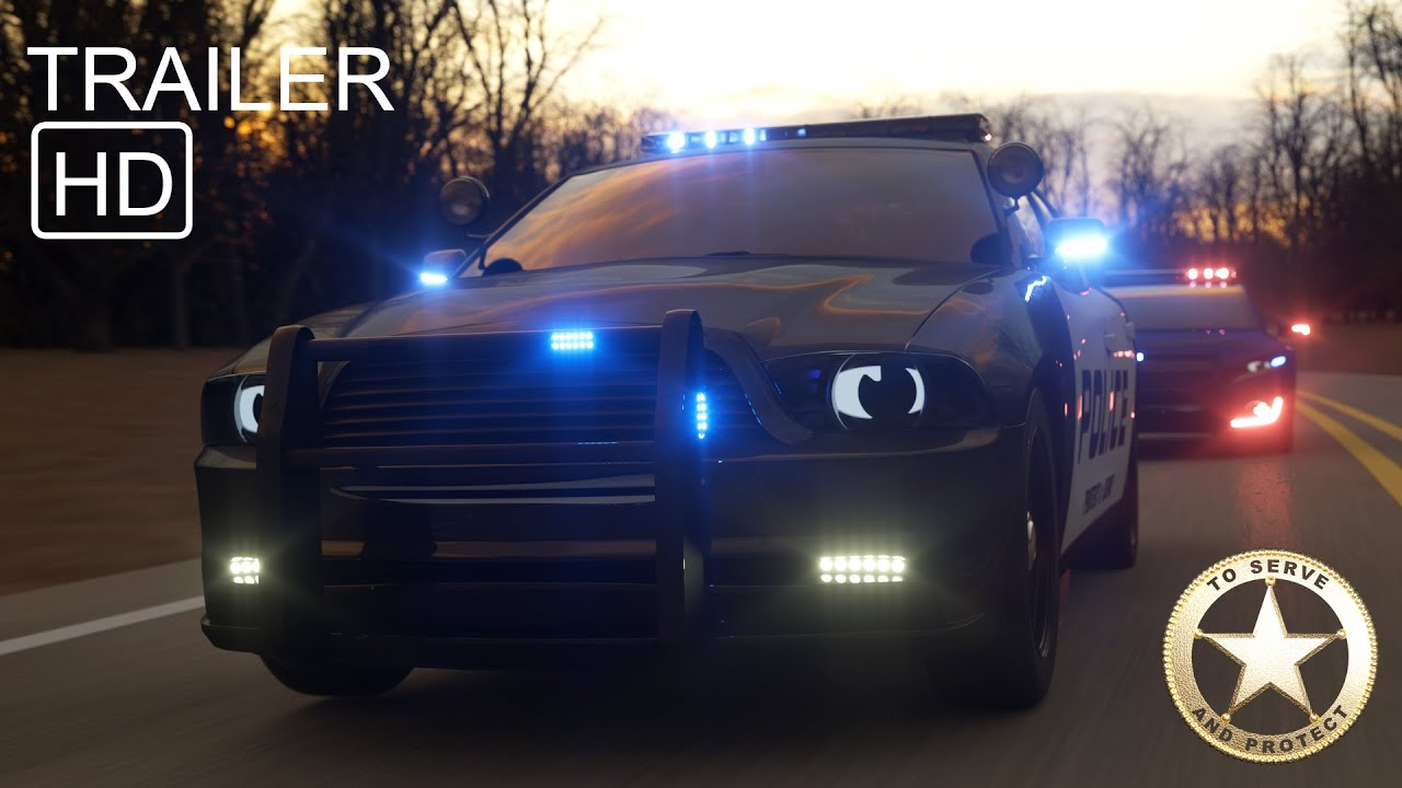 Sergeant Cooper the Police Car Part 4  - Trailer -  Real City Heroes (RCH) | Videos For Children
