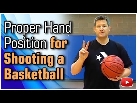 Basketball Shooting Tips and Techniques - Proper Hand Position featuring Coach John Townsend