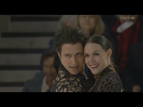 CTNSC 2018 Tessa Virtue / Scott Moir SD TSN