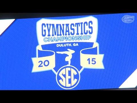 Florida Gymnastics: SEC Championship Postmeet Update 3-21-15