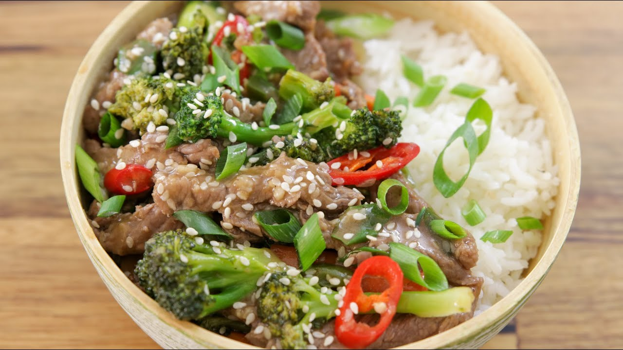 Beef And Broccoli Stir Fry Recipe The Cooking Foodie