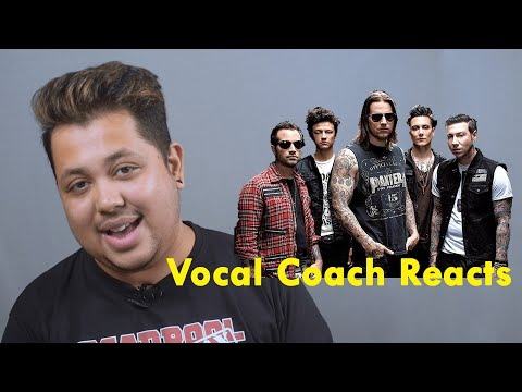 Vocal Coach Reacts To Avenged Sevenfold   Beast And The HarlotLive At The LBC | Muzikclass