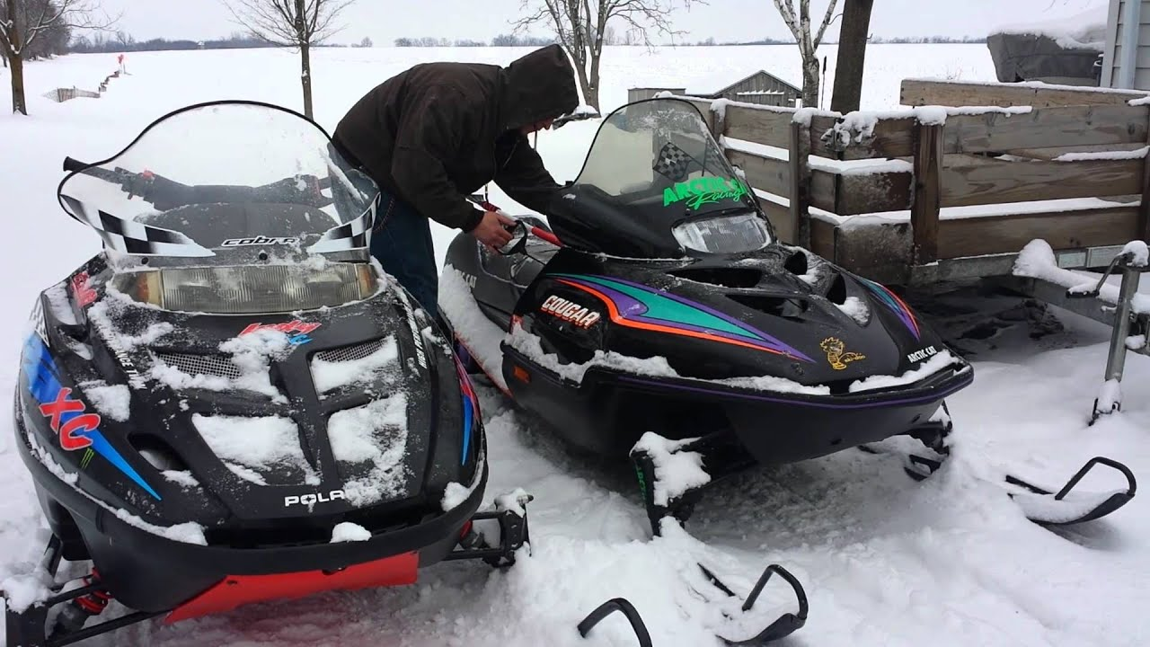 Cold Start Arctic Cat Cougar 550