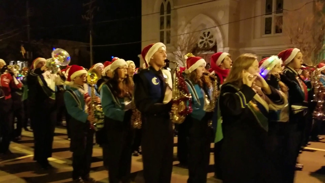 2016 Fredericksburg Christmas parade - YouTube