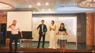 Люди с СНГ зачитали рэп на свадьбе в Южной Корее!! #рэп #ЮжнаяКорея #свадьба