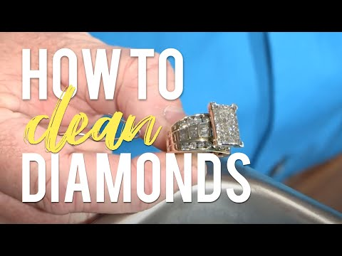 How to Clean a Diamond Ring - JTV Jewelry Care
