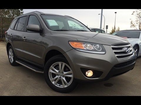 Pre Owned Dark Grey 2012 Hyundai Santa Fe Awd V6 Se Review