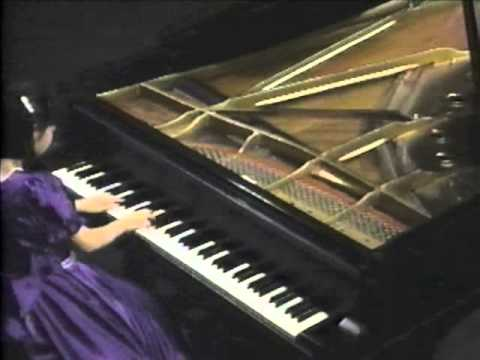 HELEN HUANG (AGE 12) AT THE 39th. PABLO CASALS FESTIVAL