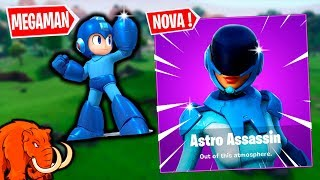 PARAISO DAS PALMEIRAS WILL DISAPPEAR and the DUO OF MEGAMAN NEW SKIN ASTRO ASSASSIN Ft. ARMA X-FORTNITE