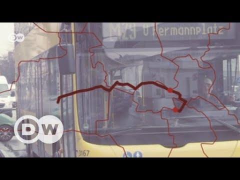 Arm und reich: Mit dem Bus durch Berlin | DW Deutsch