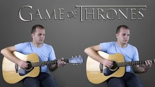 Game of Thrones on guitar + TAB