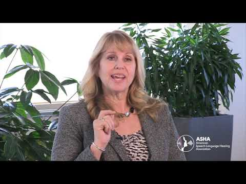 ASHA President Shari Robertson: Identify The Signs Of Communication Disorders (2019)