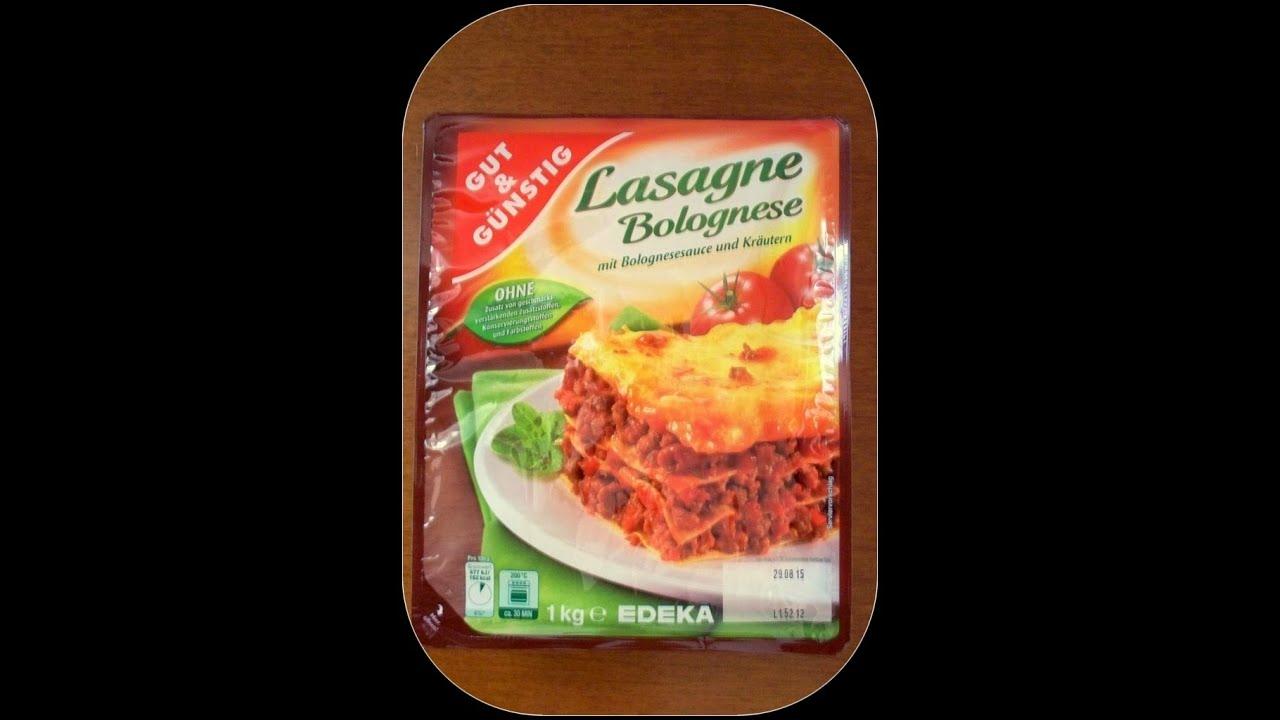 Gut und g nstig lasagne bolognese gro getestet von for Babyzimmer gut und gunstig