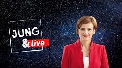 Katja Kipping, Parteivorsitzende der Linken - Jung & Live #5