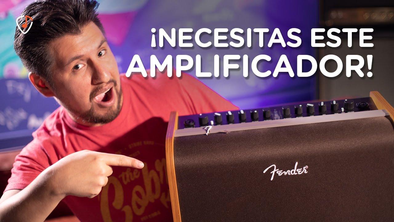 ¡Todo suena hermoso en este amplificador! 😱   Fender Acoustic 100