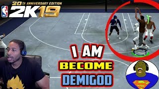 FURTHER PROOF THAT THIS GAME IS TRASH - SHARPSHOOTER DEMIGOD LOOSE IN THE PARK - NBA 2K19 MY PARK