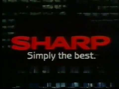 Sharp (Australian ad - 1988)