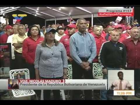 Presidente Nicolás Maduro en Con El Mazo Dando, 17 mayo 2017