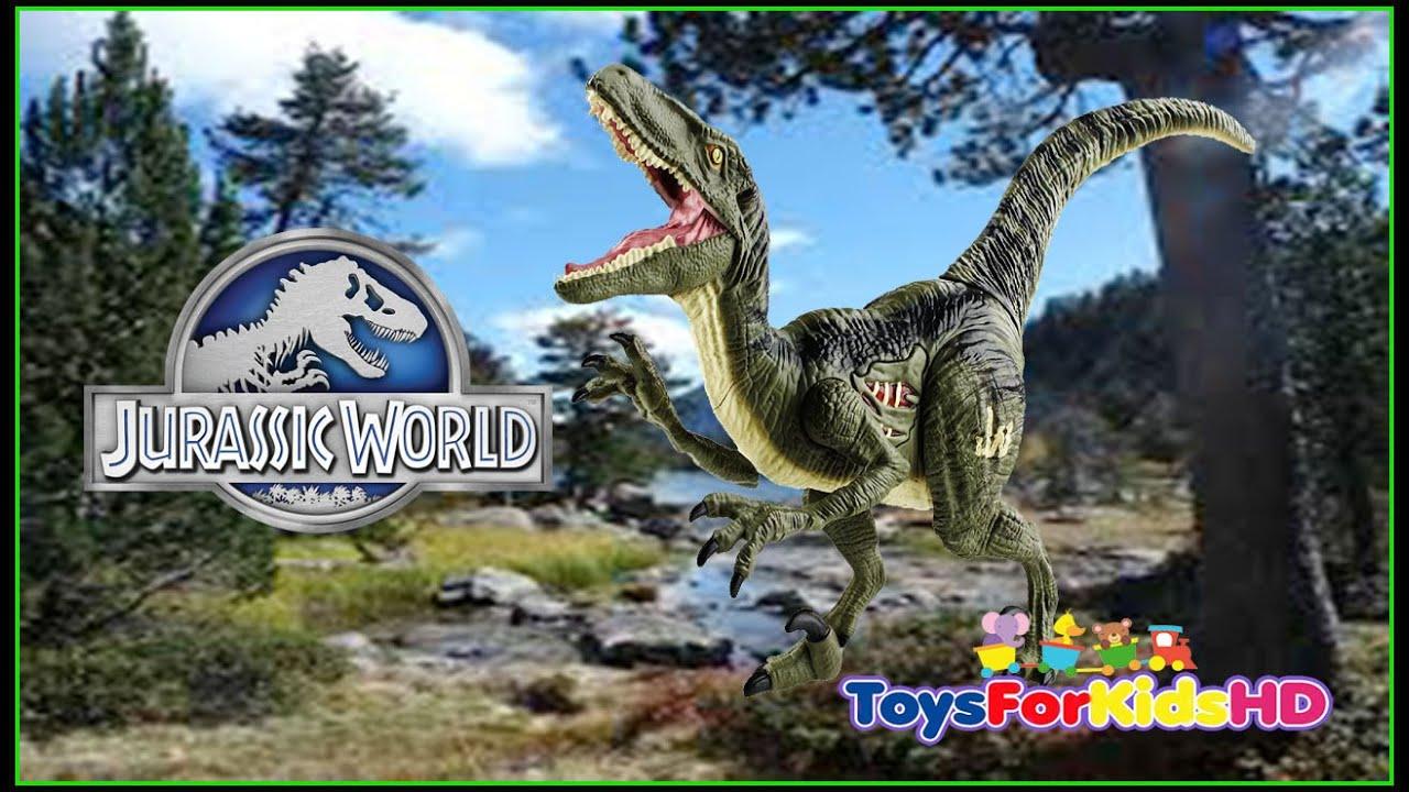 Jurassic world Velociraptor Blue - Juguetes de Dinosaurios ...