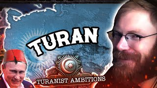 THE FIRST EVER TURAN IN HOI4 MP! NEW RUSSIAN FOCUS TREE IS AMAZING! - HOI4 Multiplayer