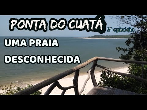 Ponta do Cuatá, em Santarém, no Pará, uma praia desconhecida - Turismo Brasil (Região Norte)