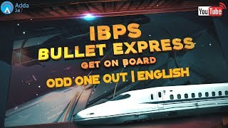 IBPS PO PRE   Odd One Out   English   Online Coaching for SBI IBPS Bank PO