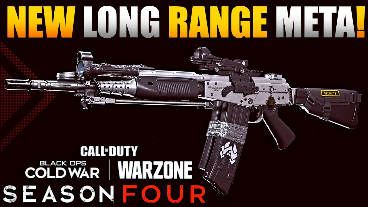 New Long Range Meta For Warzone Season 4 | Patch Notes Make Huge Changes to CW Barrels & Nerf AMAX