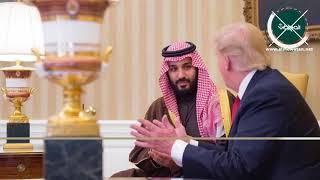 """موشن جرافيك """"المواطن"""".. ولي العهد في واشنطن رؤية سعودية للحياة"""