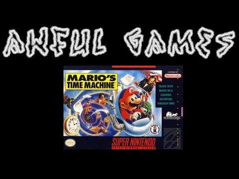 AWFUL GAME: Mario's Time Machine (SNES)