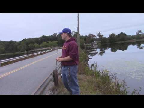 Fishing The Moodus Resevoir
