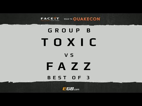 Toxic vs Fazz - GROUP B (Road to Quakecon 2015)