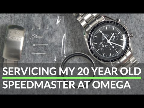 Servicing My 20+ Year Old Speedmaster at Omega, Experience & Cost