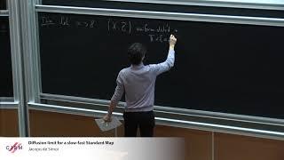 Jacopo De Simoi: Diffusion limit for a slow-fast Standard Map