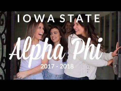 Iowa State Alpha Phi | 2017-2018