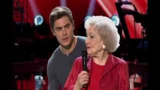 Betty White & Zac Efron sings on The Voice (HD)