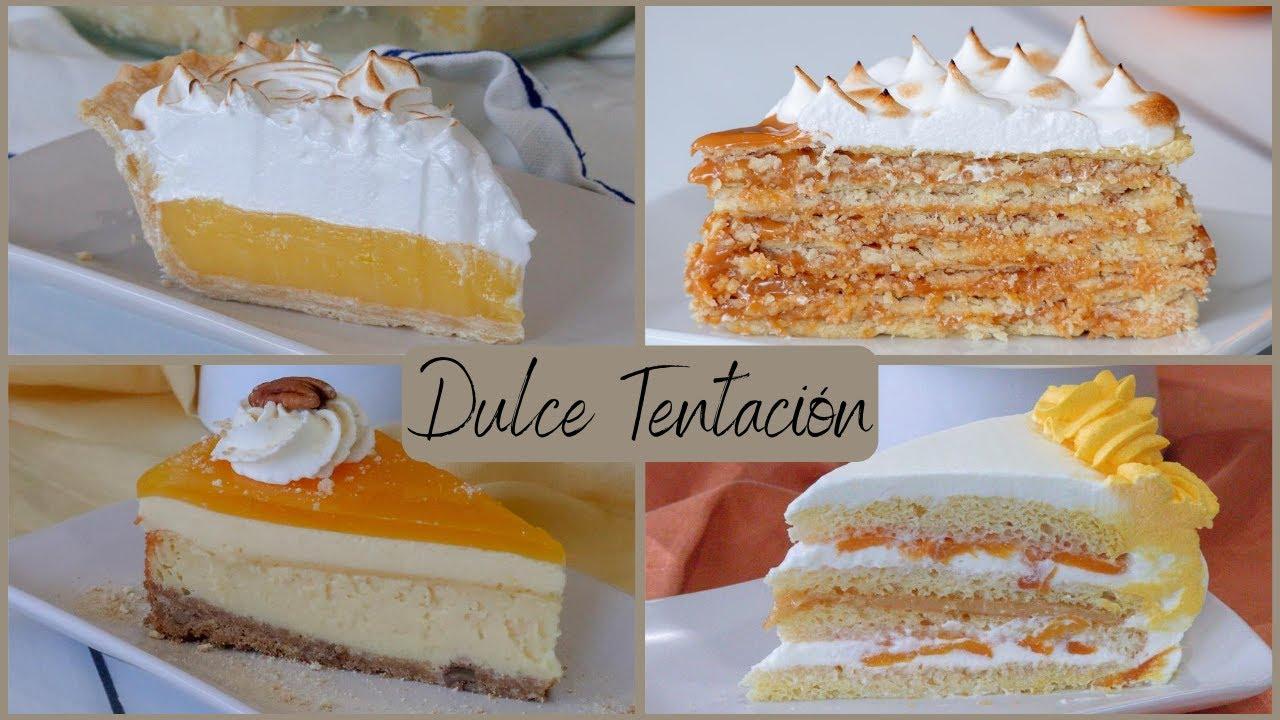 """""""Dulce Tentación"""" Mi primer recetario online de postres deliciosos"""