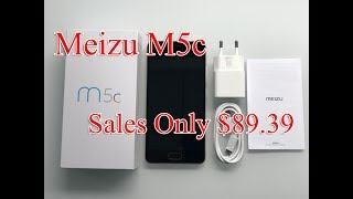 Cheap Phone  - meizu m5c hands on unboxing