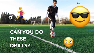 How to improve your ball control, dribbling and soccer skills -  football tricks like a pro